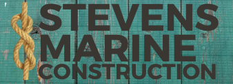 Stevens Marine Construction Logo